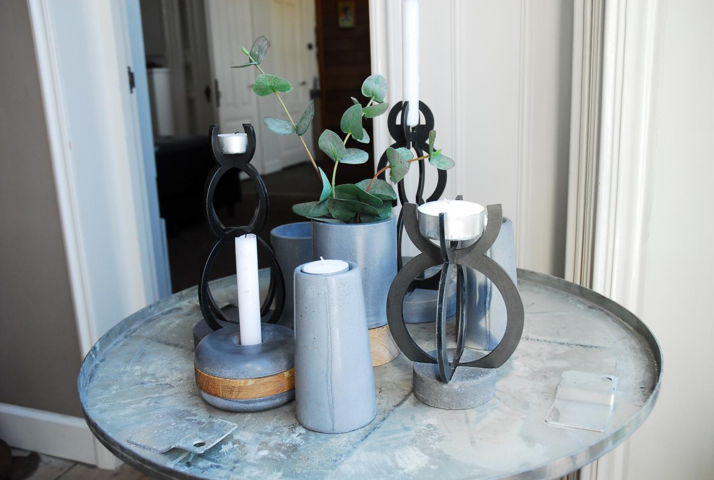 kaarshouder staal en beton