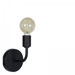 Bruma wall lamp black